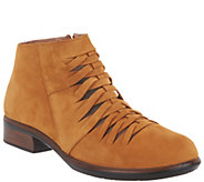 Naot Nubuck Woven Cut Out Ankle Boots - Leviche - A311024