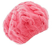 Nirvanna Designs Womens Cable Beret - A322724