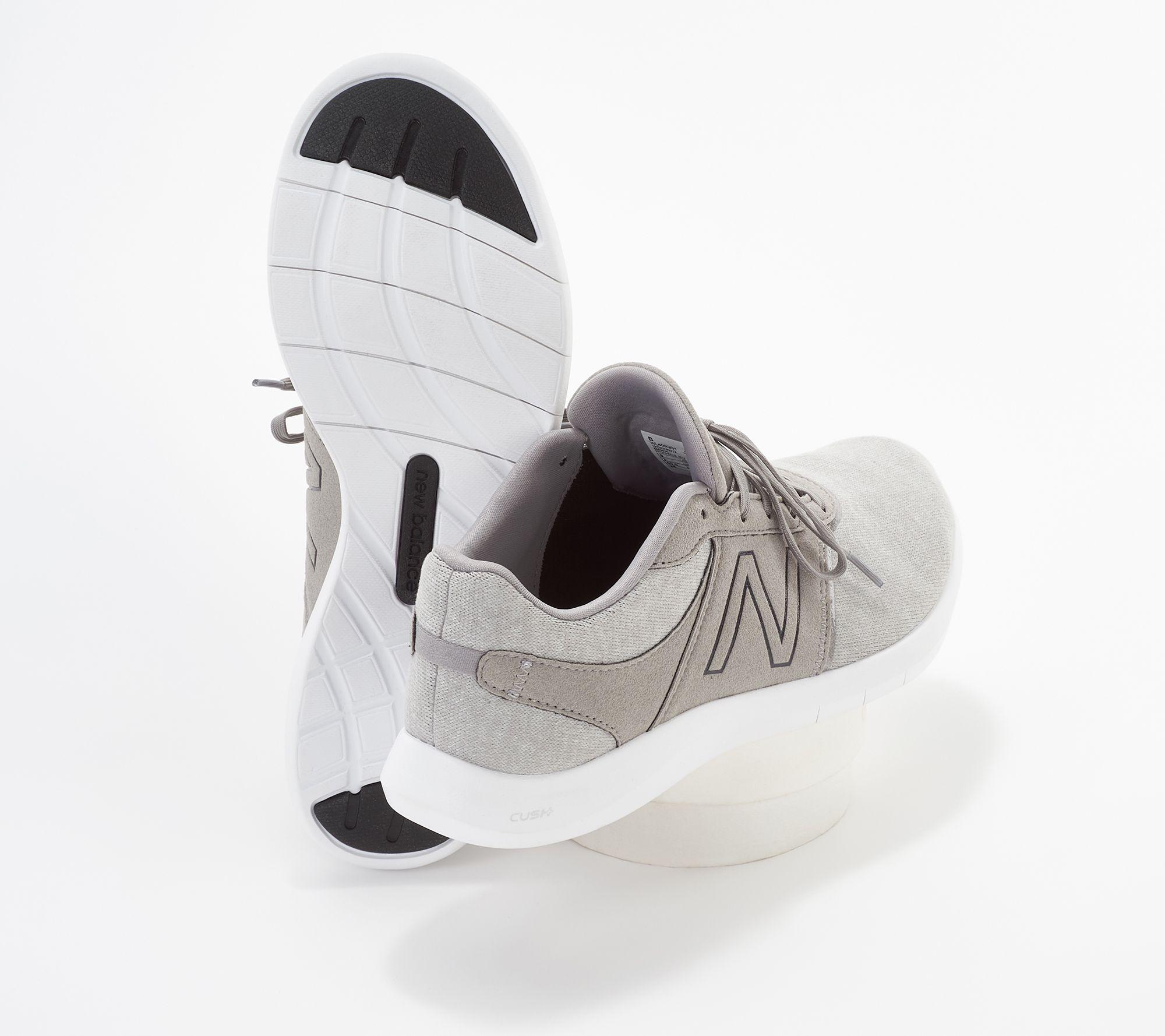6e8b93932fedb New Balance x Isaac Mizrahi Live! Sweater Lace-Up Sneakers - 400 - Page 1 —  QVC.com