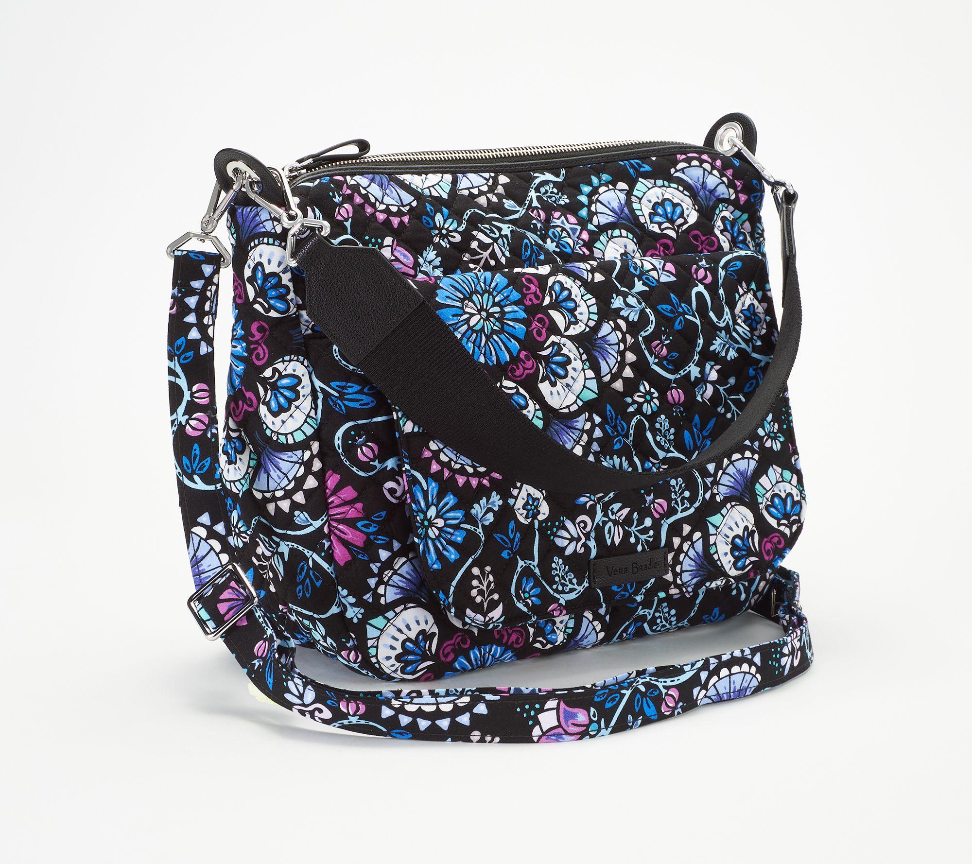 1cf47c861b Vera Bradley Signature Print Carson Shoulder Bag - Page 1 — QVC.com