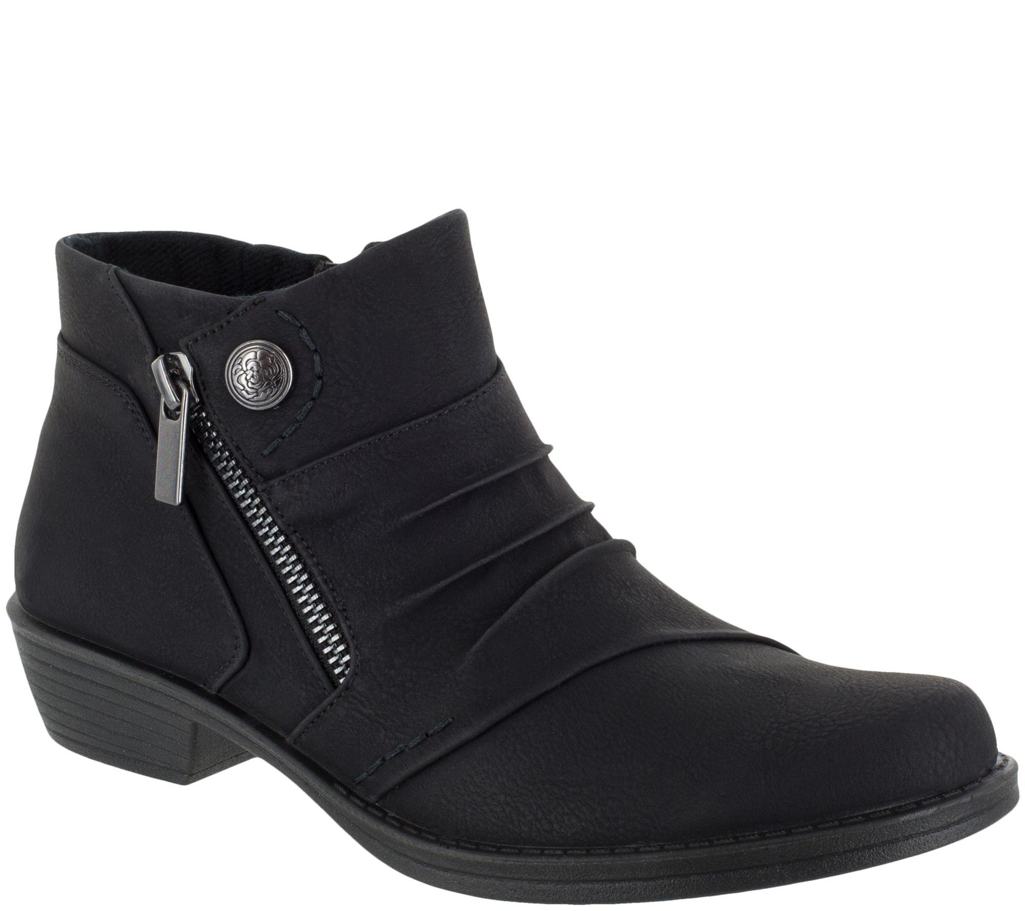 0c5299f5cad Easy Street Comfort Booties - Sable — QVC.com