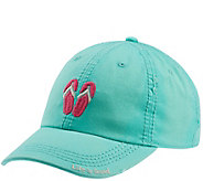 Life is Good Sun-Washed Flip Flop Chill Cap - A415924