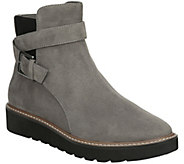 Naturalizer Flatform Leather Ankle Boots - Aster - A417124