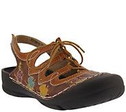 LArtiste by Spring Step Leather Clogs - Vesta - A422624