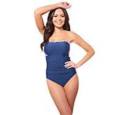 Carol Wior 4-Way Bandeau One-Piece Swimsuit - A425024