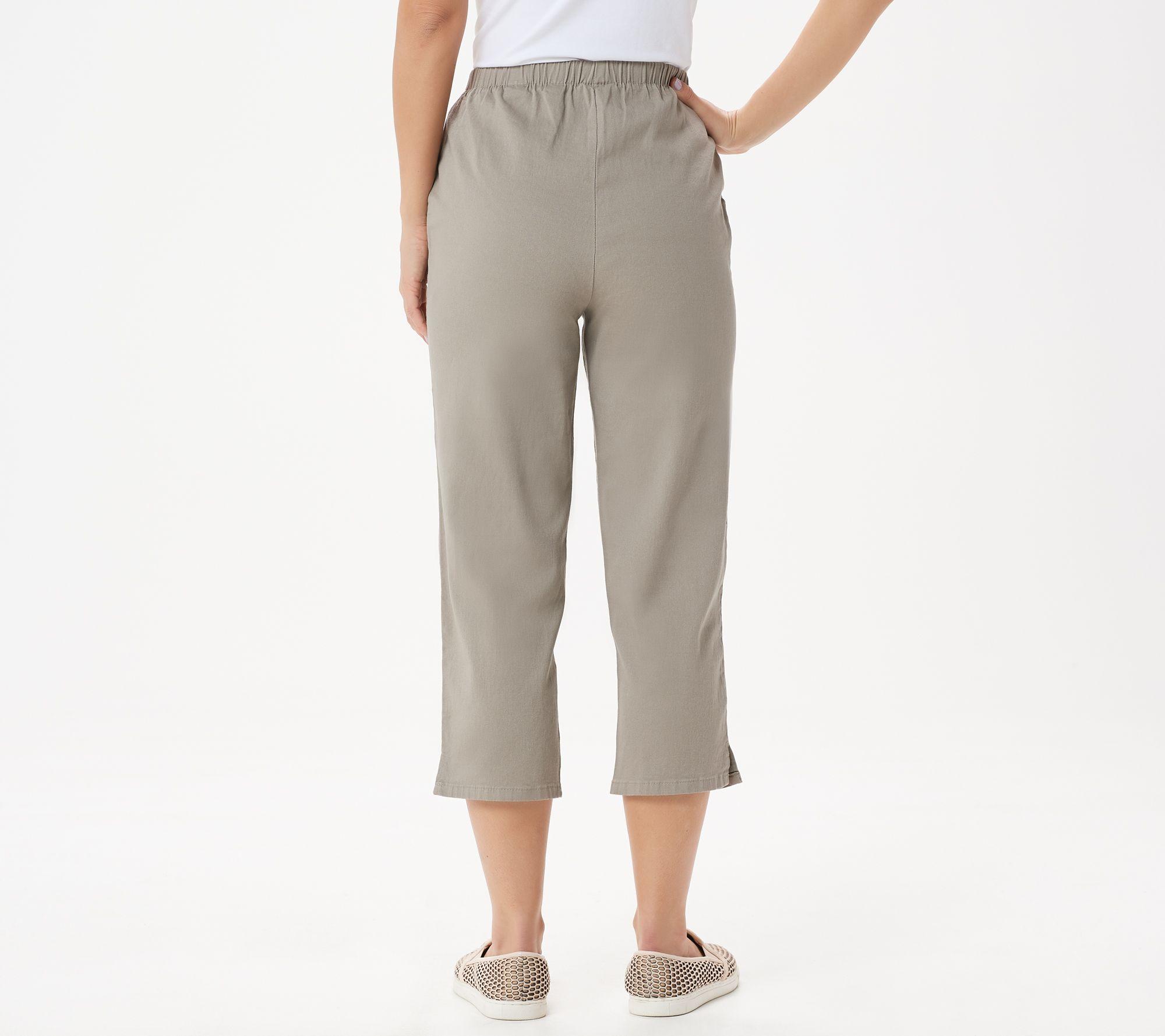 Highway 1 100/% Cotton Drawstring Elastic Waistband Shorts Spruce