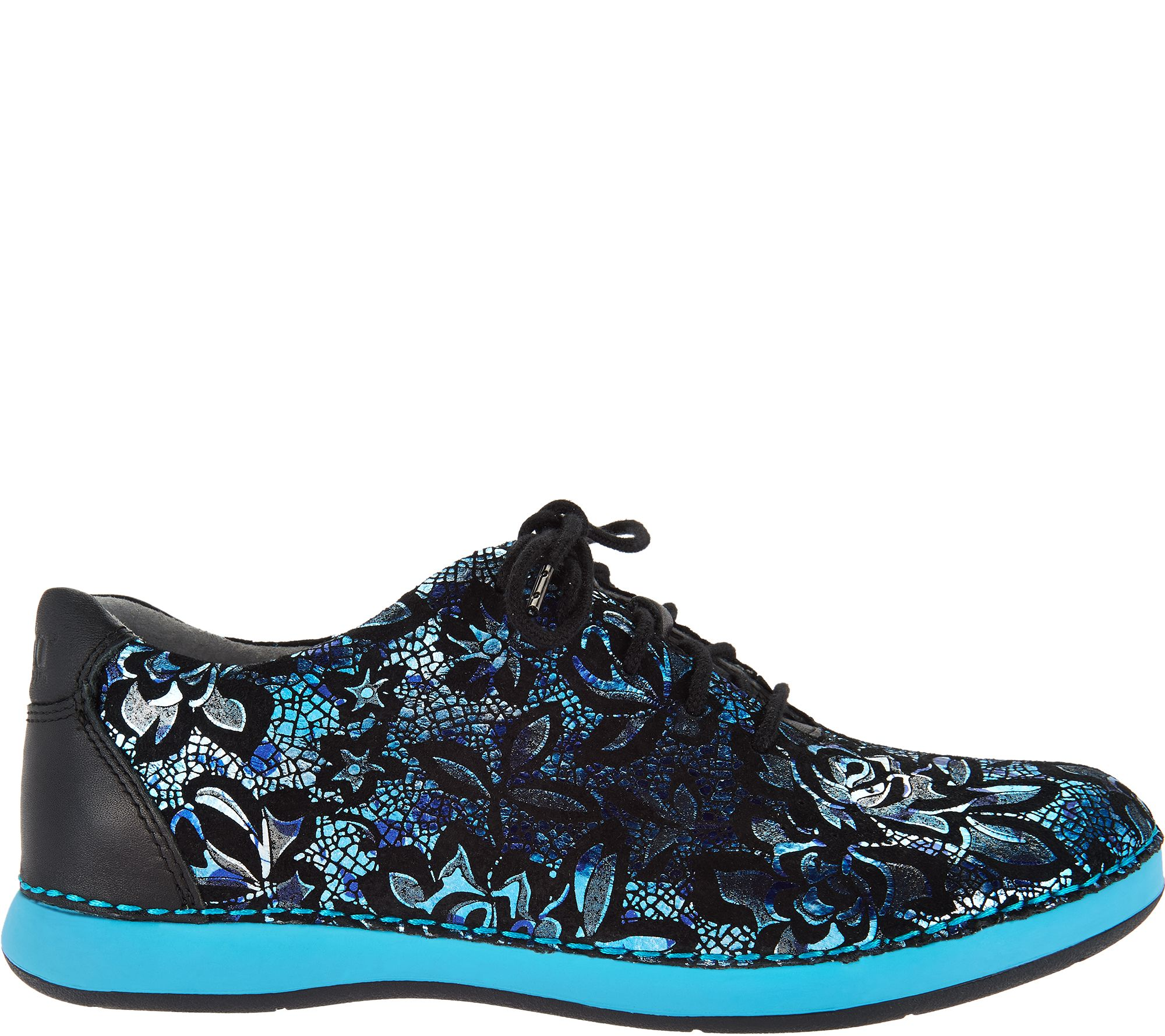 50739af38e7d Alegria Leather Lace-up Shoes - Essence - Page 1 — QVC.com