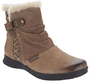 Earth Origins Leather & Suede Ankle Boots - Noreen - A307925