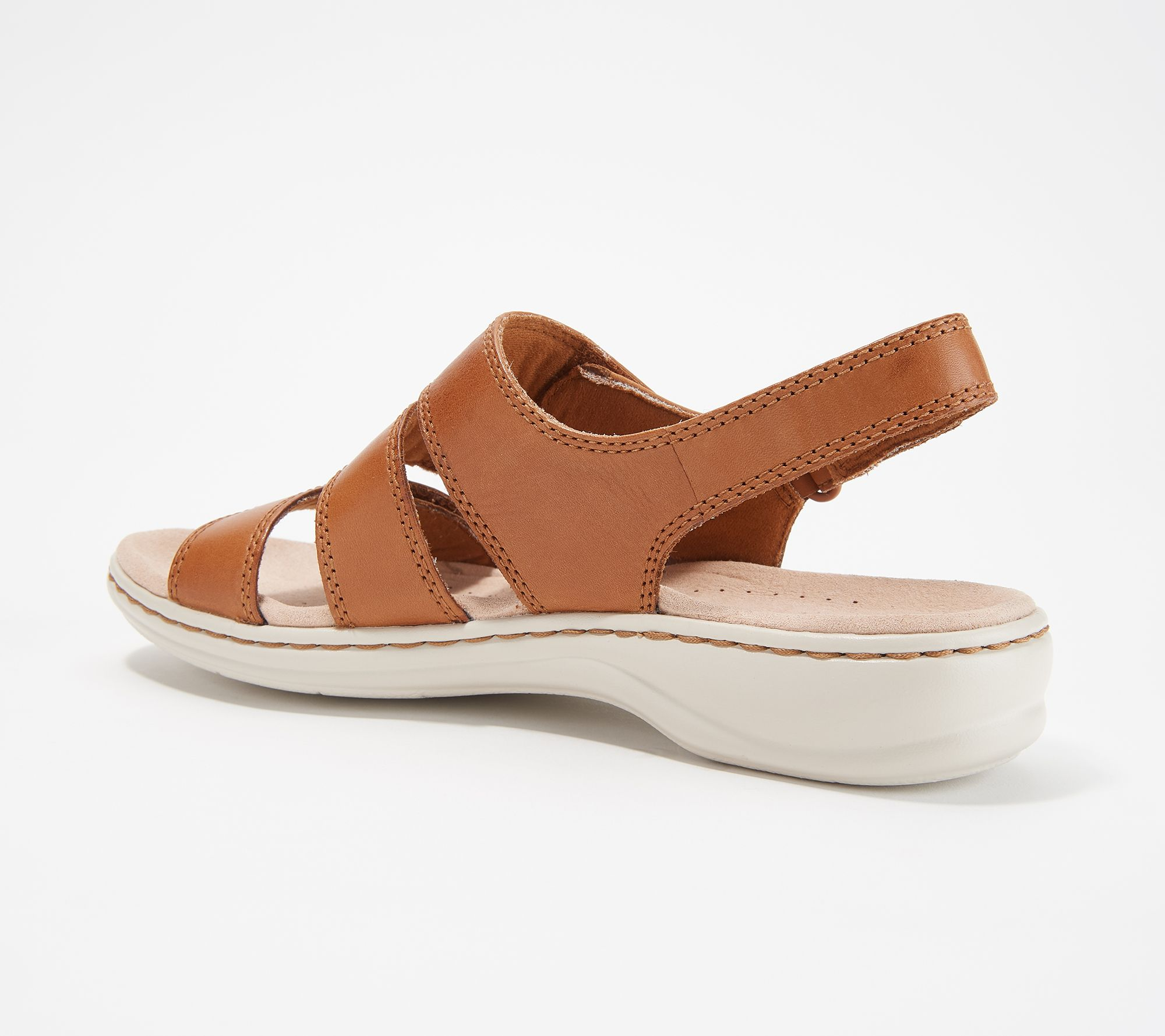 1476800dd3e Clarks Collection Leather Sandals - Leisa Melinda - Page 1 — QVC.com