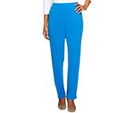 8b47875128d7 As Is Susan Graver Essentials Liquid Knit Pants, Petite - A253426