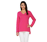 Isaac Mizrahi Live! Essentials Long Sleeve Hi-Low Tunic - A260926