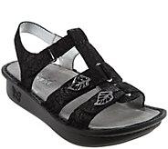 Alegria Leather Multi-Strap Sandals w/ Backstrap - Kleo - A274226