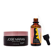 Josie Maran Whipped Argan Oil Body Butter & Body Oil Set - A276326