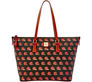 Dooney & Bourke NFL Browns Shopper - A285826