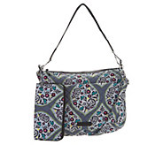 Vera Bradley Signature Carson Shoulder Bag with RFID Zip Wallet - A304126