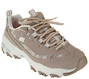 As Is Skechers DLites Lace-Up Sneakers- Interlude - A342426