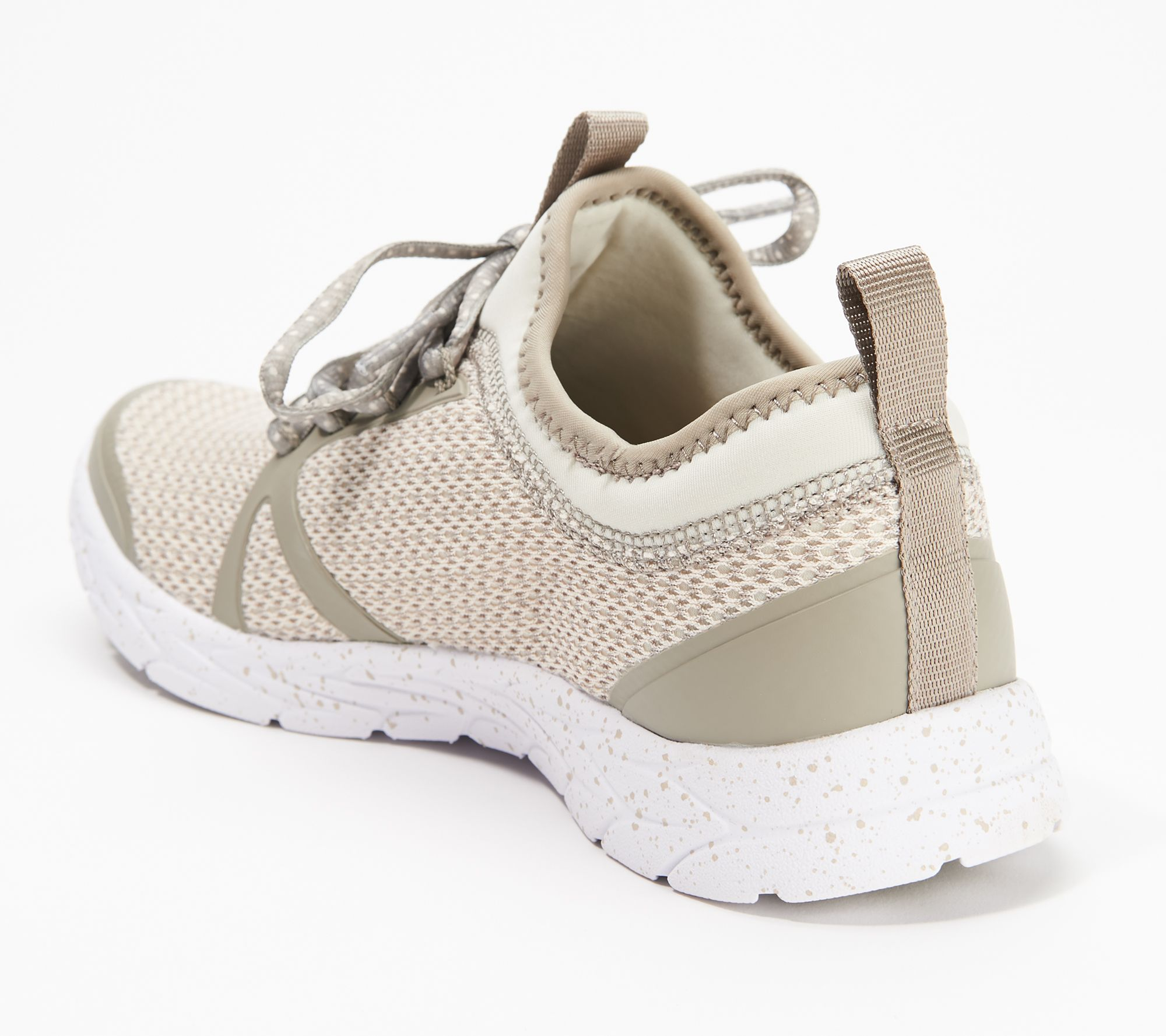 4db6e4dae80 Vionic Mesh Lace-Up Sneakers - Alma - Page 1 — QVC.com