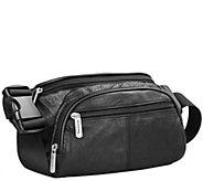 Travelon RFID Blocking Leather Waist Pack - A359226