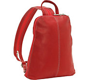 Le Donne Leather Sling Backpack - A363026