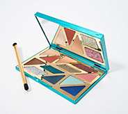 tarte High Tides & Good Vibes Eye Shadow Palette with Brush - A365526