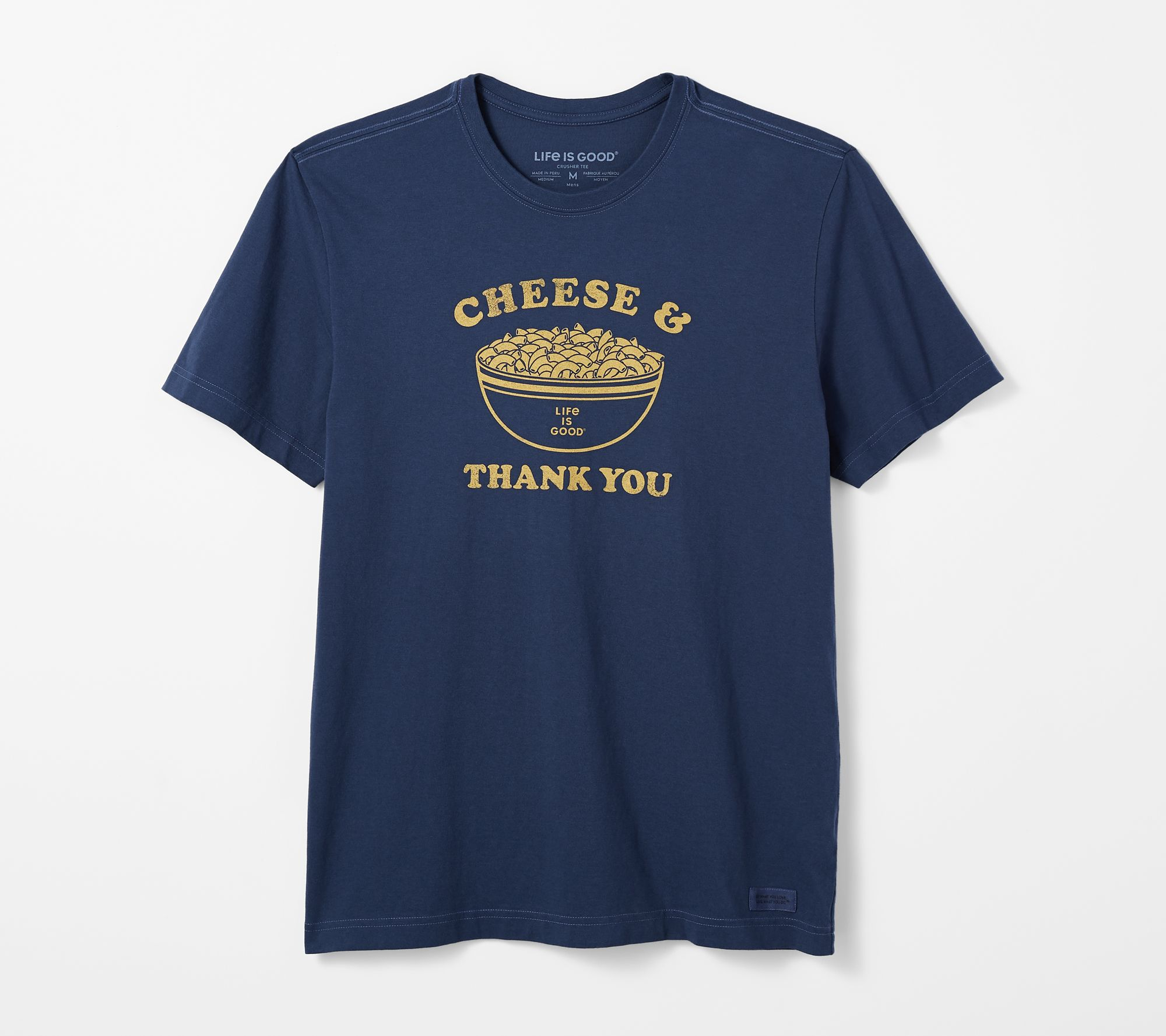 f543db7a00c Life is Good Men s In the Kitchen Short Sleeve Crusher Tee - Page 1 —  QVC.com