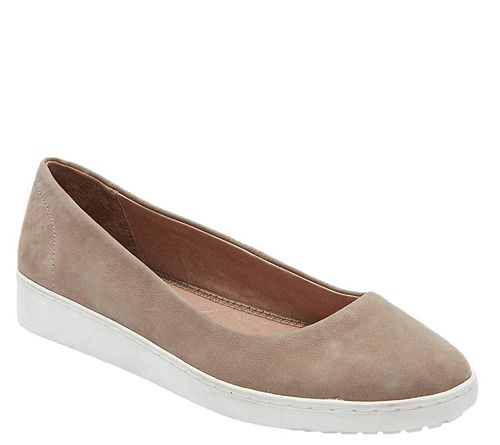 Adam Tucker Slip-On Leather Ballet Sneakers - R ena