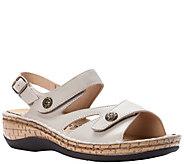 Propet Leather Two Strap Slide Comfort Sandals- Jocelyn - A423526
