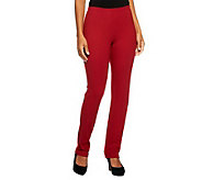Women with Control Pull-on Slim Leg Pants - A213527