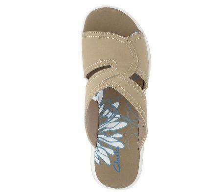 32883d425fc4 Clarks Seymour Serene Multi-Strap Slip-on Sport Sandals - Page 1 — QVC.com