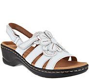 Clarks Leather Lightweight Sandals - Lexi Venice - A288927