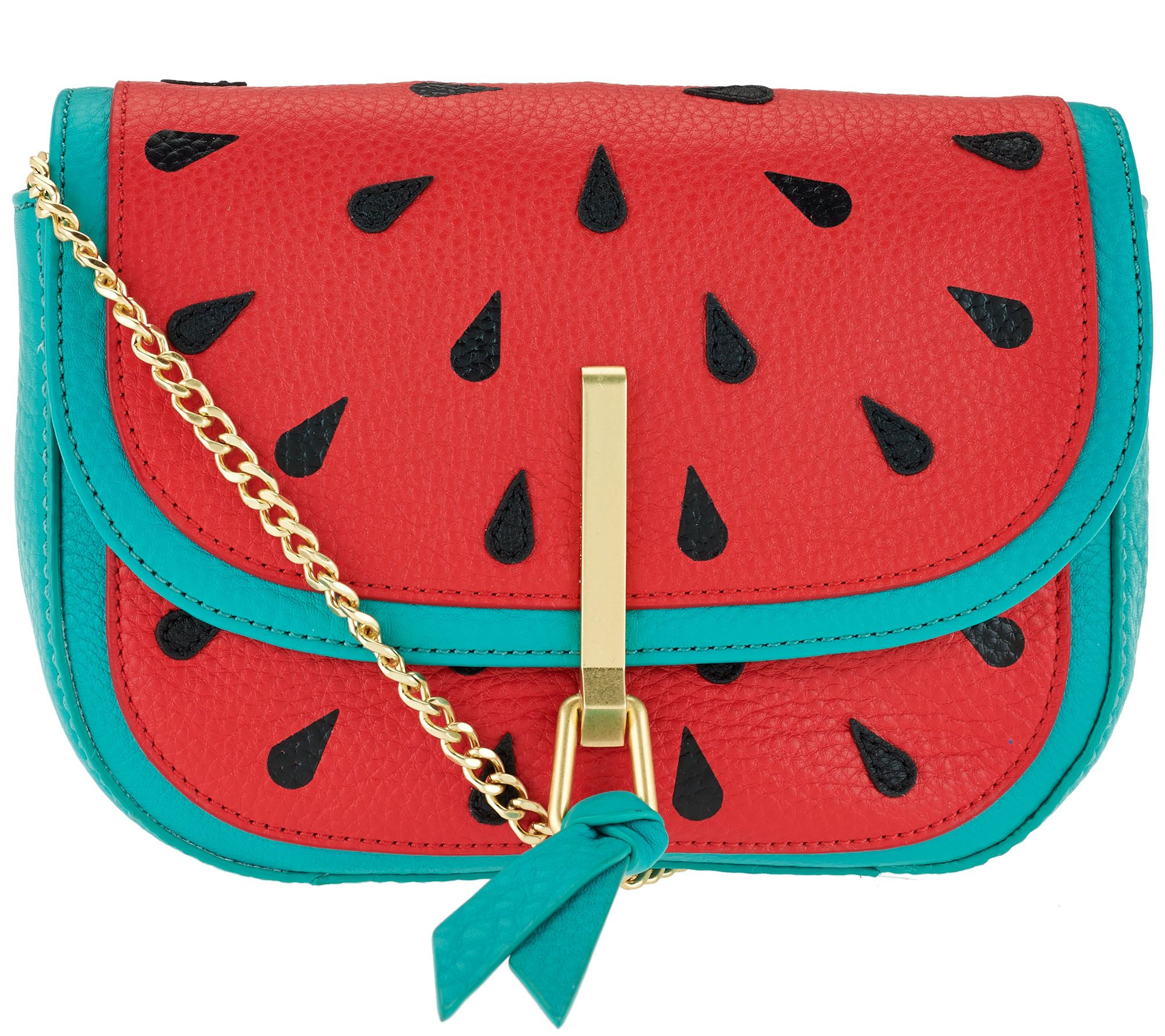 Vera Bradley Sycamore Leather Novelty Mini Saddle Bag - Page 1 — QVC.com 35973a62ea72f