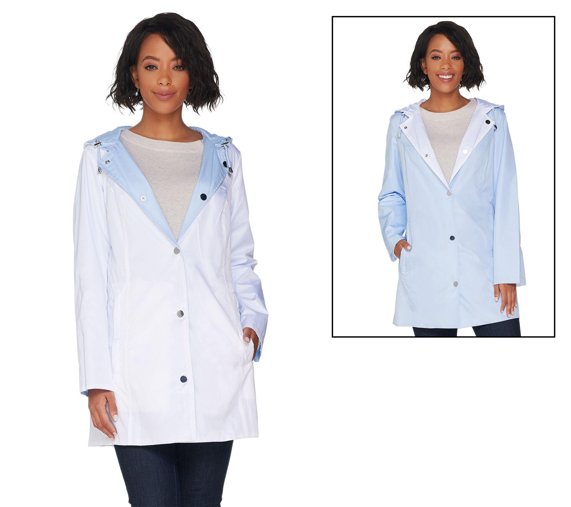 best website perfect quality find workmanship Susan Graver Water Resistant Reversible and Packable Jacket — QVC.com