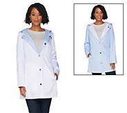 Susan Graver Water Resistant Reversible and Packable Jacket - A305127