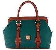 Dooney & Bourke Pebble Leather Satchel Handbag - Mitchell - A309427