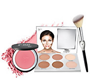 IT Cosmetics You Sculpted & Bye Bye Pores Blush w/ Brush Anti-Aging Trio - A311227