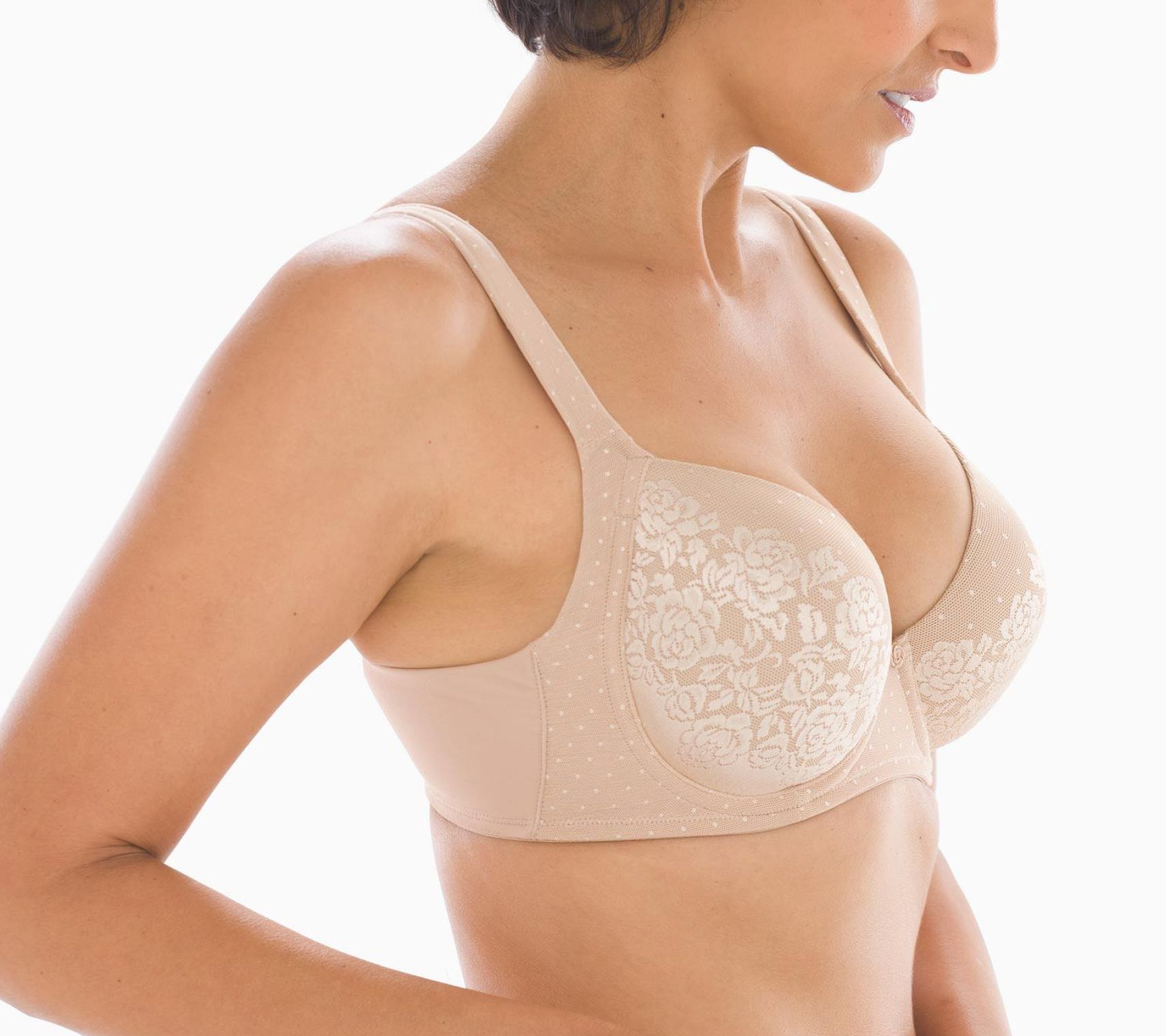 8c19d0680f Soma Stunning Support Full-Coverage T-Shirt Bra - Page 1 — QVC.com