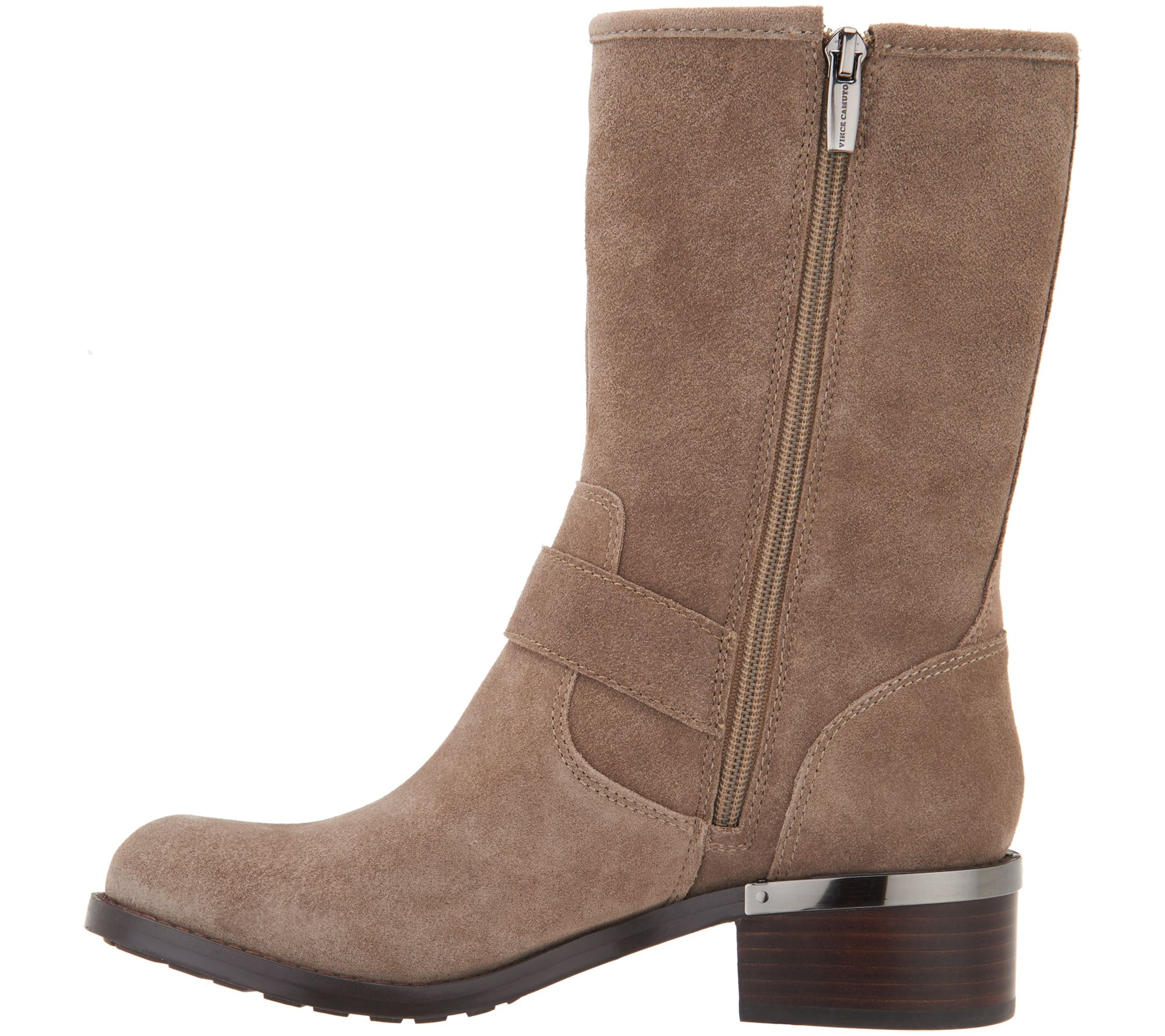 c6f9d122427 Vince Camuto Harness Detailed Mid-Calf Boots - Wantilla - Page 1 — QVC.com