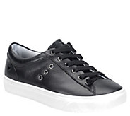 Nurse Mates Leather Lace Up Sneakers - Fenton - A363827