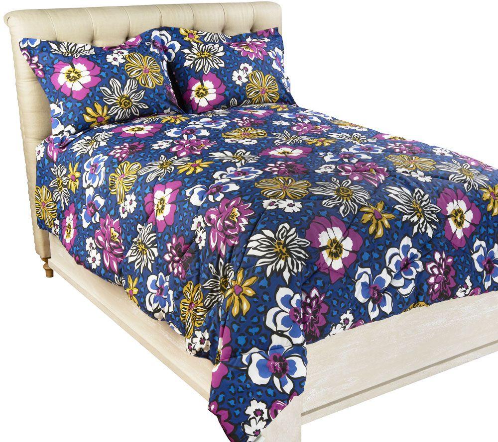 Vera Bradley Reversible Print Twin Xl Comforter Set Page