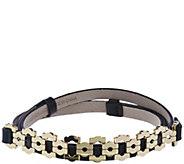 C. Wonder Adjustable Trellis Link Belt - A281628