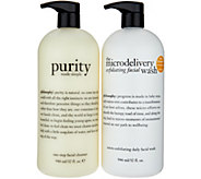 philosophy supersize purity & microdelivery cleansing duo - A291128