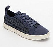 Koolaburra Woven Sneakers - Kellen Low Lace Denim - A347228
