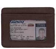 Travelon RFID Blocking Leather Cash & Card Sleeve - A359228