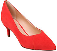 Franco Sarto Kitten Heel Pumps - Donnie - A364628