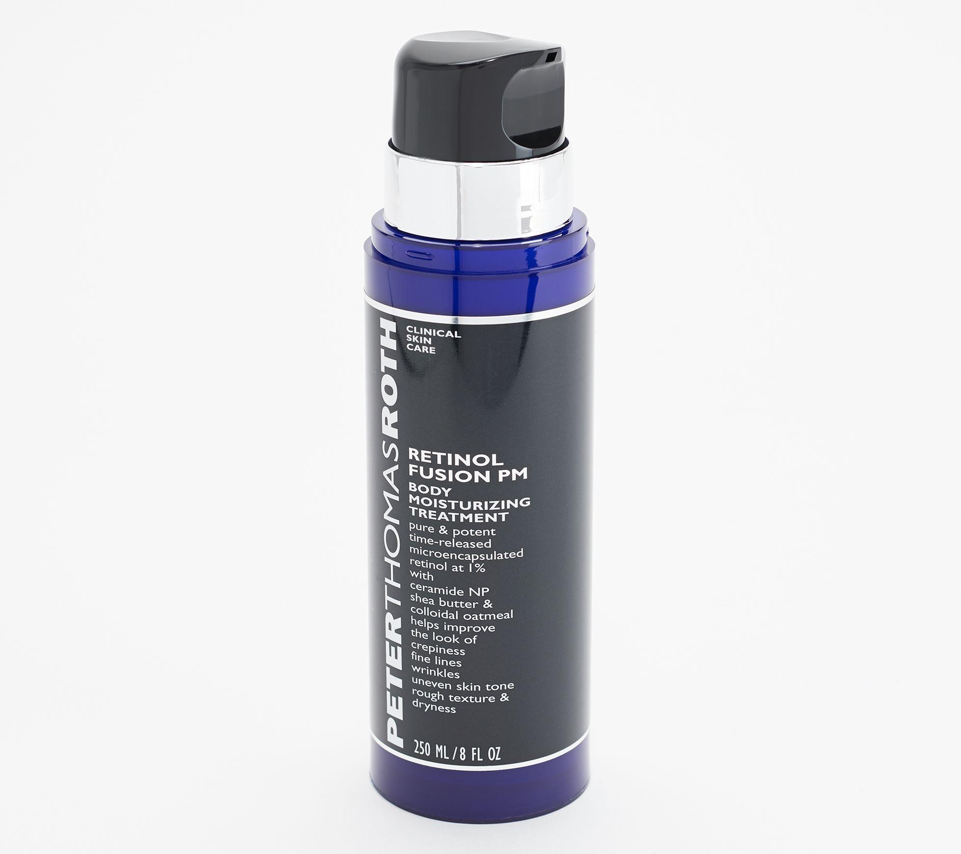 Peter Thomas Roth Retinol Fusion PM Body Treatment Cream 8-oz — QVC com
