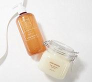 Josie Maran Argan & Hemp Hand & Body Wash & Sugar Scrub - A394228