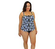 Fit 4 U Fit 4 Ur Tummy Cami Top with Zipper - Plus - A413028
