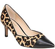 Franco Sarto Toe Cap Kitten Heel Pumps - Delight 2 - A414128