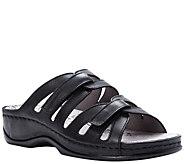Propet Leather Slide Comfort Sandals - Kylie - A423528