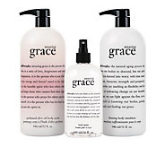 philosophy super-size love your skin fragranced body trio - A225529